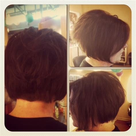 stack bobs for thin hair stacked bob for fine hair hairstyles pinterest