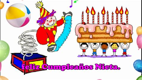 imagenes de cumpleaños nieta feliz cumplea 241 os nieta youtube