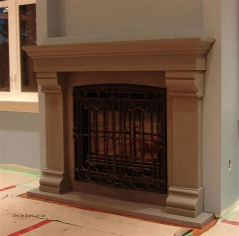 Cement Fireplace Mantels by Fireplace Mantel 22 3 Cast Concrete