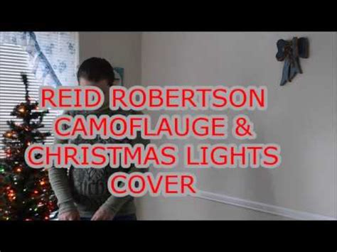 camouflage and christmas lights rodney carrington karaoke