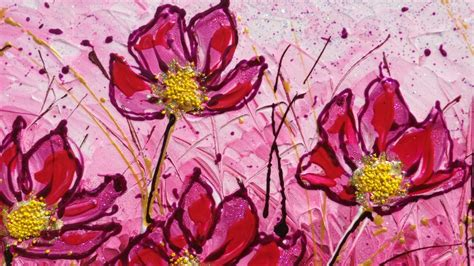 dipinti fiori fiori dipinti wroc awski informator