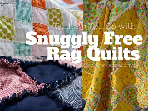 Free Rag Quilt Pattern by 38 Snuggly Free Rag Quilt Patterns Favequilts