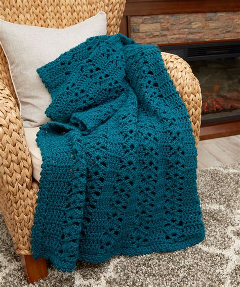 pattern crochet throw charming crochet throw red heart