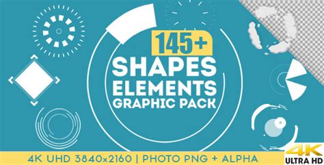 Shapes Elements Graphic Pack Motion Graphic Videohive Free After Effects Template Motion Graphics Templates