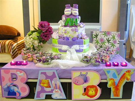 Ideas De Baby Shower by Algunas Ideas Para Decorar Un Baby Shower