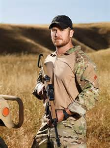 Kyle author of american sniper and the most lethal sniper in american