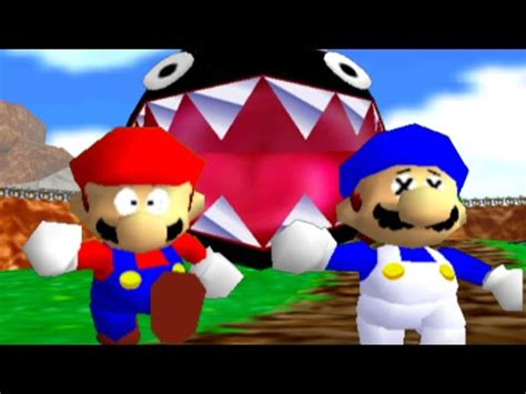 super mario 64 bloopers: who let the chomp out? youtube