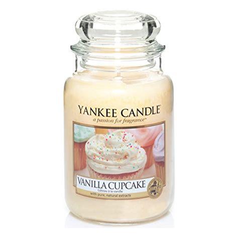 candele yankee yankee candle large vanilla cupcake jar candle 1093707