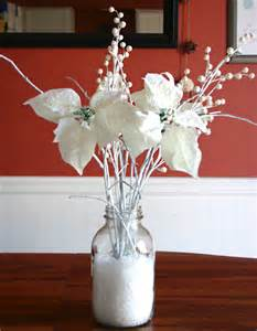 winter centerpieces for tables handmade holidays winter table centerpiece