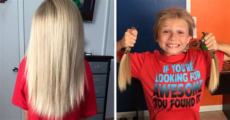 9 year old hair syles long hair boys this 8 year old was bullied for 2 years while growing his