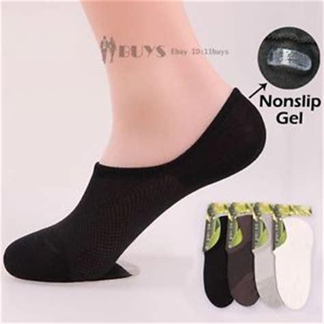 mens loafer socks mens nonslip bamboo rayon invisible loafer boat no show
