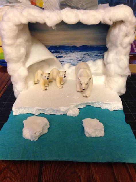 K 3d Polar Kid reed s polar diorama craft ideas for bears polar bears and dioramas
