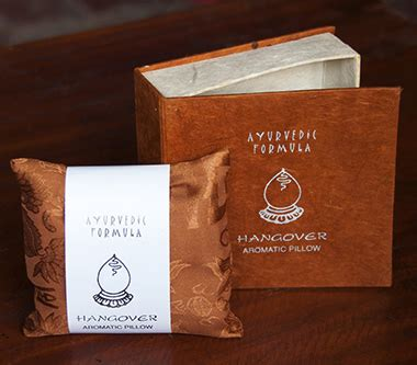Herbal Hangover Pillow by Relaxing Incense From Earthbeats Clears Away Tension