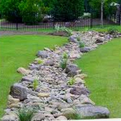 drainage ditch in backyard 17 best images about drainage ideas on pinterest