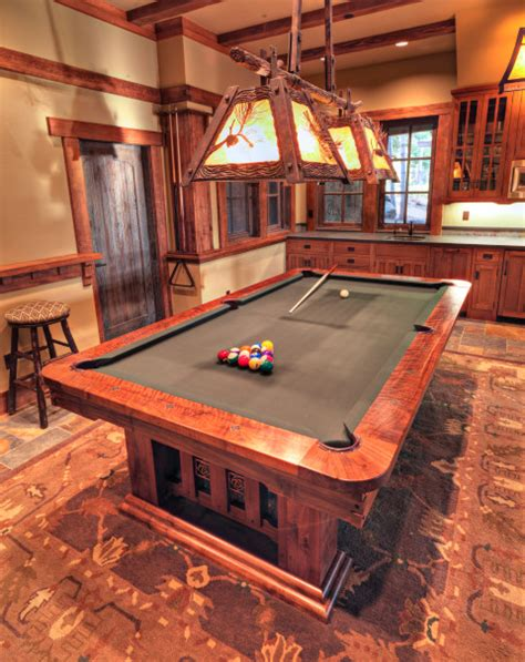 Handmade Pool Table - custom pool tables craftsman furniture other metro