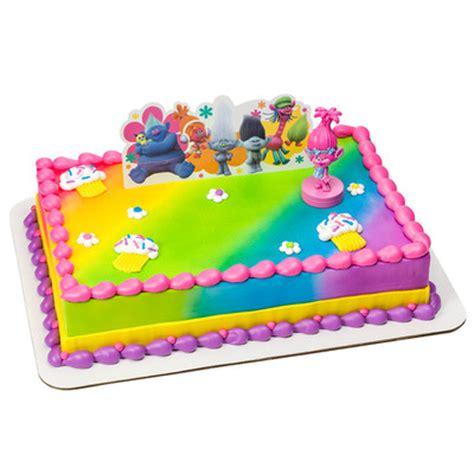 trolls poppy show me a smile cake decor kit party supplies