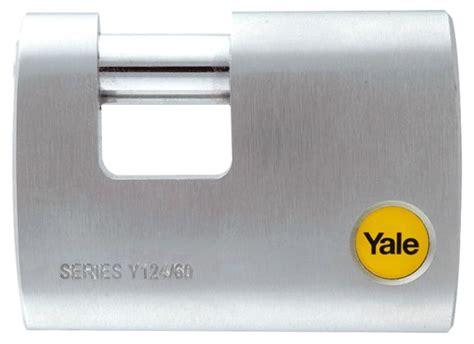 Yale Gembok Travel Lock Series Ytp531 Black 5 y124 60 110 yale silver series outdoor brass satin shackle padlock boron shackle