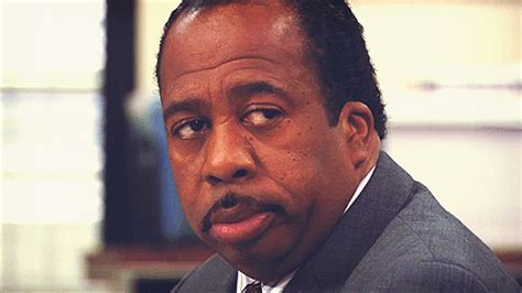 Unamused Black Girl Meme - stanley hudson gifs on giphy