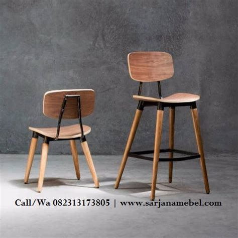 Jual Kursi Bar Kayu Jakarta jual kursi cafe dan bar kayu jati sarjana mebel