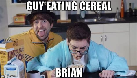 Cereal Guy Meme Generator - guy eating cereal brian imgflip