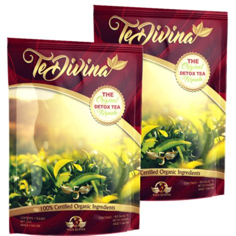 Te Divina Detox Owners by Vida Divina Organic Health Products Home Of The Original