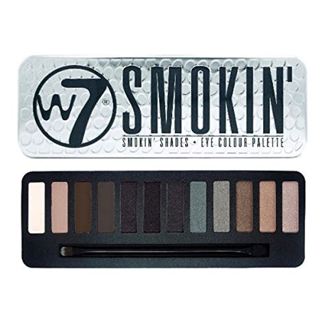 City Color Smokey Palette w7 quot in the quot smokey shades eye