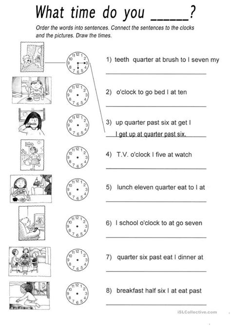 what do you get a for s day what time do you worksheet free esl printable