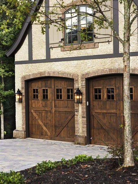 French Country Garage Doors Design Pictures Remodel Country Garage Doors