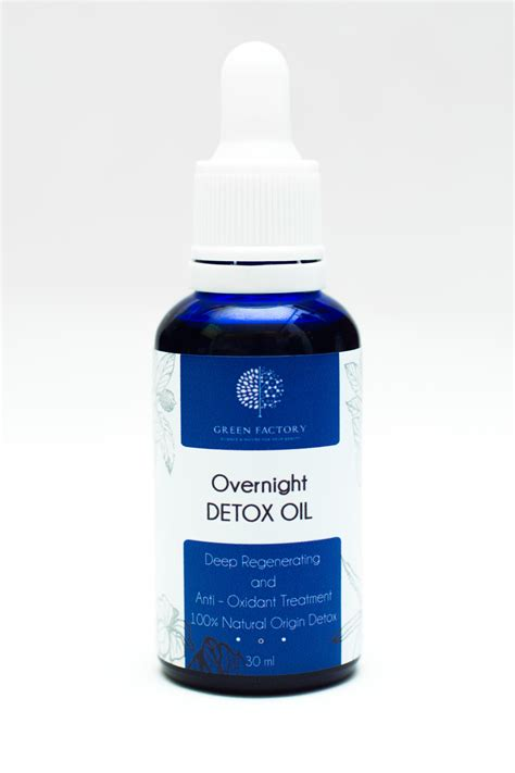 Overnight Detox by Overnight Detox Green Factory Cosmetics