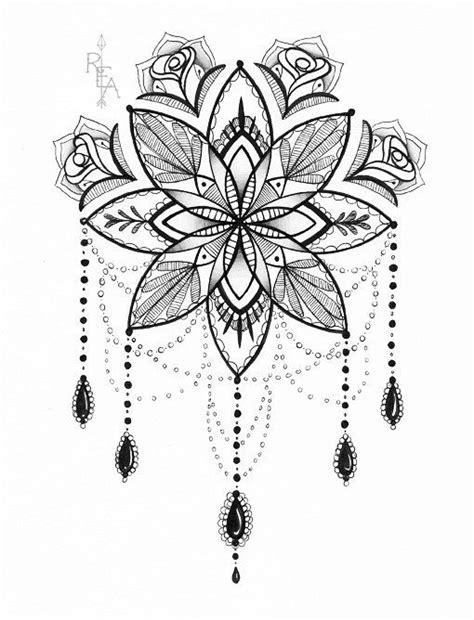 tattoo mandala coloring pages mandala dreamcatcher drawing pinterest mandalas ink
