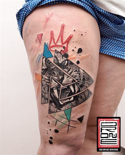 tattoo animal abstract 20 best color tattoos images on pinterest abstract