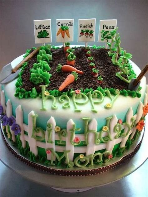 garden themed cake decorations 25 best ideas about vegetable garden cake on