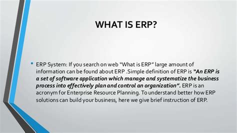 how to choose the perfect erp system