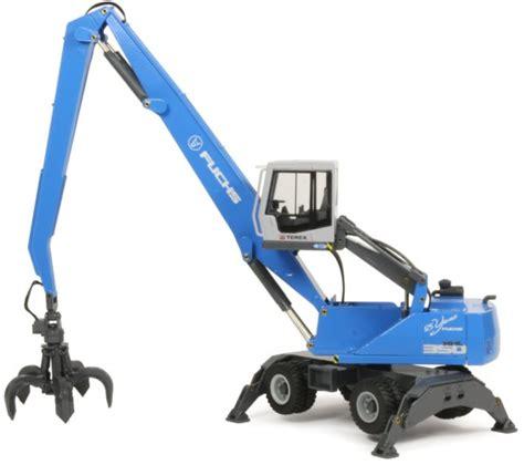 miniature construction world terex fuchs mhl350 material handler