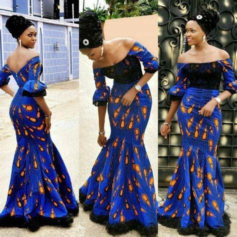 latest ankara in nigeria nigeria ankara and lace latest style 2018 styles 7