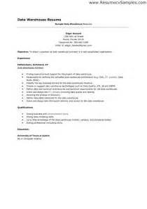 resume objective examples for warehouse worker template
