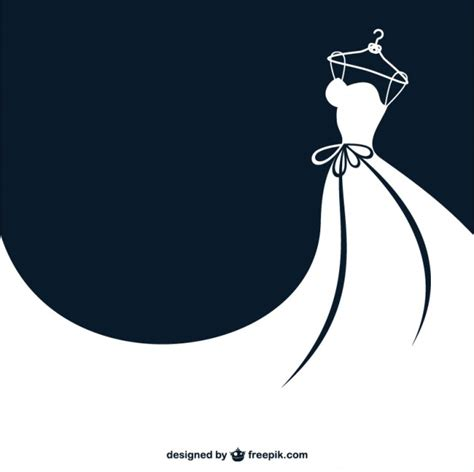 clothes vector design free download white bride dress vector free download