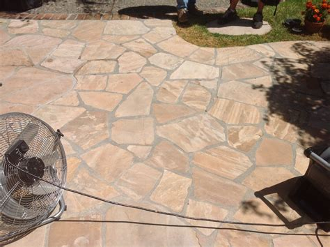 how to clean flagstone patio crunchymustard