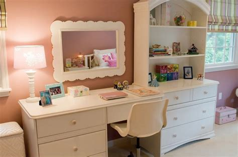 girls bedroom desks little girl bedroom with desk and wall cabinet interior design