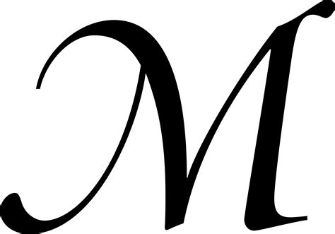 M Drawing Design by Letter M Dr