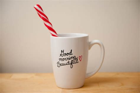 beautiful coffee cups good morning beautiful coffee mug by love toast