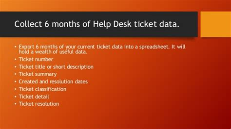 Help Desk Ticket by Help Desk Ticket Categories And Classification Scheme