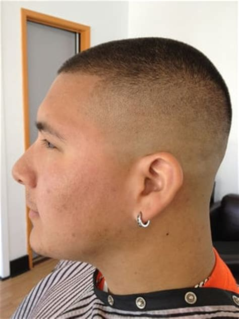 near bald haircuts rob with a bald fade yelp