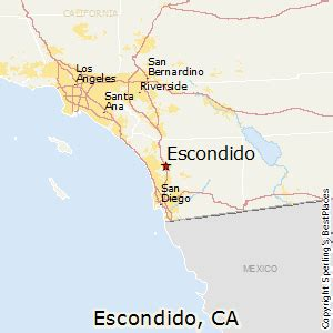 map of escondido california best places to live in escondido california