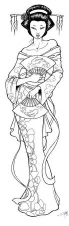 Geisha Coloring Pages 1000 images about geisha on geisha