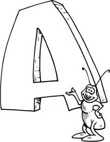 letter a coloring pages free coloring pages of trace letter m