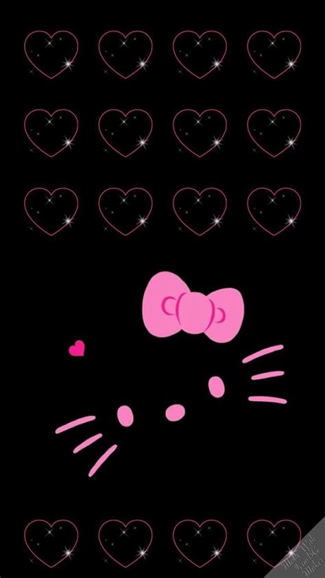wallpaper hello kitty mini mhkitty iphone cute icorns pinterest