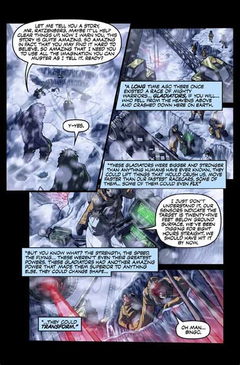 Promo Pahe 1 by Generation 1 Volume 1 Preview Transformers Comics Tfw2005