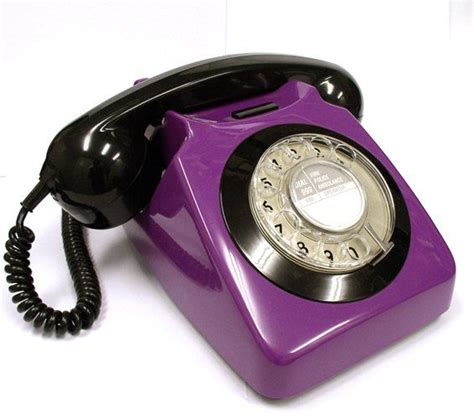 How To Find Phone Number Sleek Vintage Phone All Things Purple