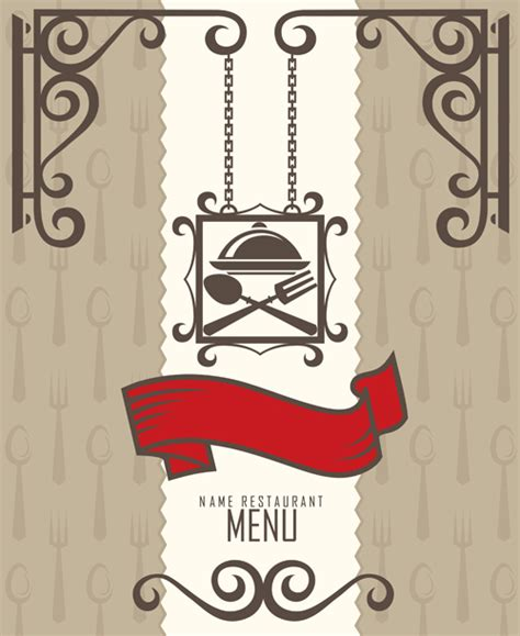 menu layout vector free download restaurant menus design cover template vector 02 vector